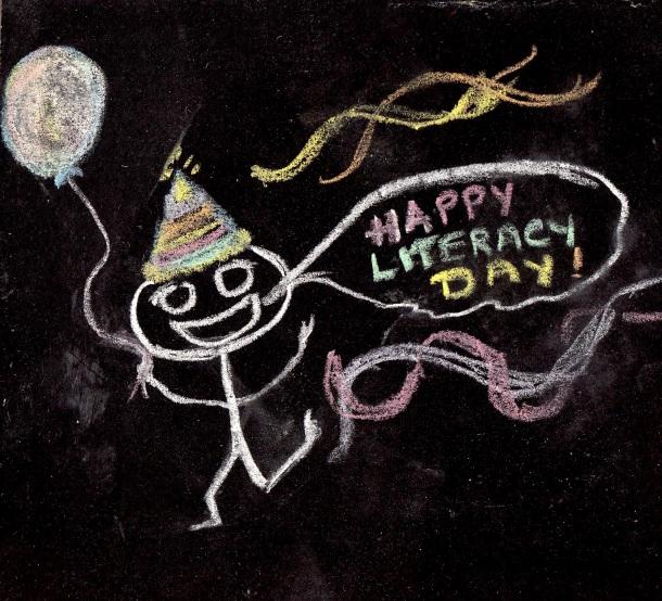 Happy International LIteracy Day!