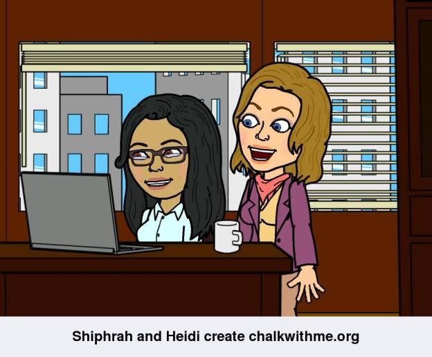 creating chalkwith me